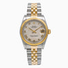 Rolex Datejust 68273 31mm Silver Dial With Two Tone Jubilee Bracelet
