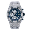 Audemars Piguet Royal Oak Offshore Chronograph 26170ST 42MM Blue Dial With 23.25 CT Diamonds