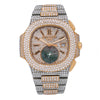Patek Philippe Nautilus 5980/1AR 40.5MM Champagne Diamond Dial With 23.50 CT Diamonds