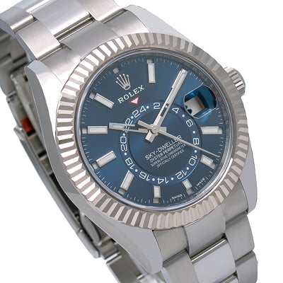 Rolex Sky-Dweller 326934 42MM Blue Dial With Stainless Steel Oyster Bracelet