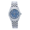 Rolex Lady-Datejust 68274 31MM Blue Diamond Dial With 1.50 CT Diamonds