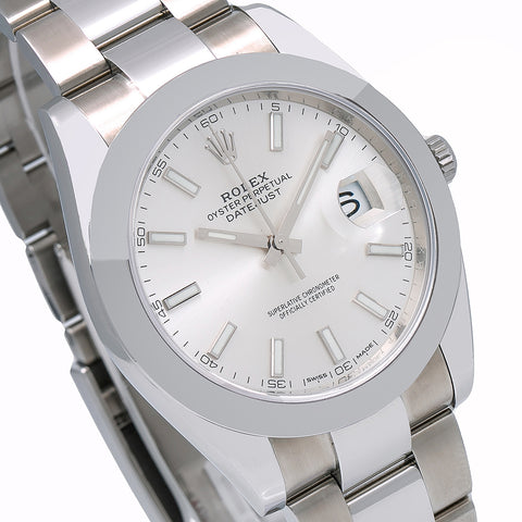 Rolex Datejust 126300 41MM Silver Dial With Stainless Steel Oyster Bracelet