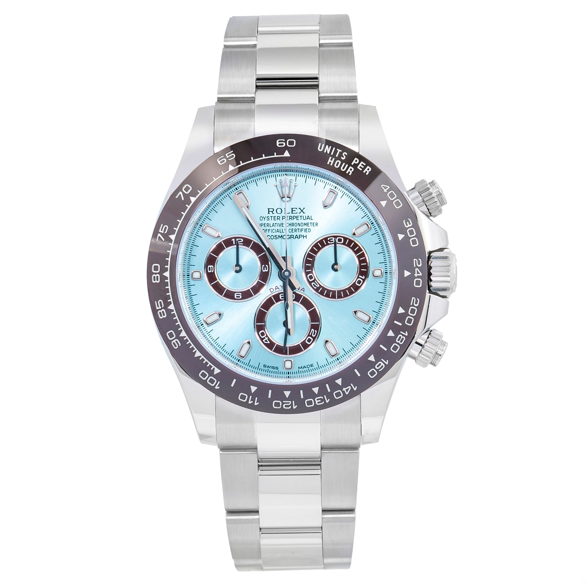 Rolex Daytona 116506 40MM Blue Dial With Platinum Bracelet