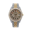 Rolex Datejust 126333 41MM Champagne Diamond Dial With 17.25 CT Diamonds