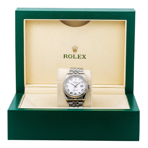 Rolex Datejust 116233 36MM Silver Dial With Stainless Steel Bracelet