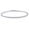 14K White Gold Women's Bracelet with 0.5 CT , 56 One Pointers Diamonds