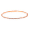 14K Rose Gold Women's Bracelet with 0.5 CT , 56 One Pointers Diamonds