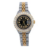 Iced Out Rolex Datejust 26MM Black Diamond Dial With 5.25 CT Diamonds