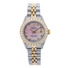 Rolex Lady-Datejust 69173 26MM Pink Diamond Dial With 2.75 CT Diamonds