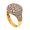 LADIES 18K YELLOW GOLD WITH 2.24 CT HAND RING