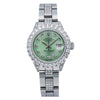 Rolex Lady-Datejust 6917 26MM Green Diamond Dial With Stainless Steel Oyster Bracelet