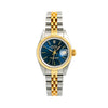 Rolex Lady-Datejust 69173 26MM Blue Dial With Two Tone Jubilee Bracelet