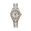 Rolex Lady-Datejust 6917 26MM White Diamond Dial With 0.90 CT Diamonds