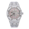 Audemars Piguet Royal Oak Selfwinding 15450ST 37MM Silver Diamond Dial With Stainless Steel Bracelet