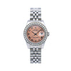 Rolex Lady-Datejust 179160 26MM Salmon Dial With 0.80 CT Diamonds