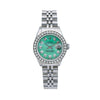 Rolex Lady-Datejust 6917 26MM Green Diamond Dial With 0.90 CT Diamonds