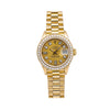 Rolex Lady-Datejust 69178 26MM Champagne Diamond Dial With 0.90 CT Diamonds