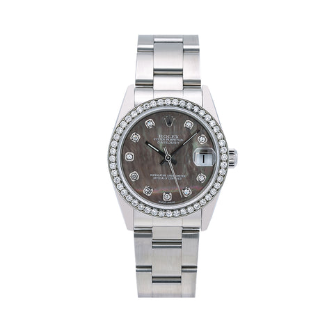 Rolex Lady-Datejust Diamond Watch, 78240 31mm, Mother of Pearl Diamond Dial With 1.05 CT Diamonds