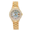 Rolex Datejust  Yellow Gold 26MM White Diamond Dial With Yellow Gold Bracelet