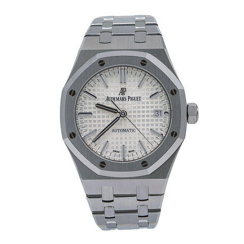 Audemars Piguet Royal Oak Self Winding 15450ST 37MM White Dial With Stainless Steel Bracelet