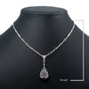 "18K White Gold 18"" With 19.00 grams Women's Necklace"