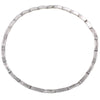 "14K White Gold NLF0038NHL 18"" Women's Necklace With 4.90 CT Diamonds"