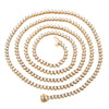 14K Yellow Gold Men's Tennis Chain  With 12.75 CT Diamonds