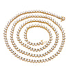 14K Yellow Gold Men's Tennis Chain With 21.28 CT Diamonds