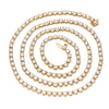 14K Yellow Gold Men's Tennis Chain With 23.25 CT Diamonds