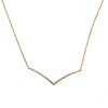 "18K Rose Gold DDN1005 17"" Women's Necklace With 0.45 CT Diamonds"