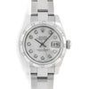 Rolex Datejust 179160 26MM Silver Diamond Dial With Stainless Steel Oyster Bracelet