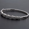 14K White Gold Women's Bracelet With 1.18 CT Diamonds Of Round Diamonds