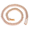 14K ROSE GOLD 22"