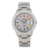 Rolex Datejust 16030 36MM Silver Diamond Dial With Stainless Steel Oyster Bracelet