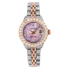 Rolex Lady-Datejust 6917 26MM Pink Diamond Dial With 7.25 CT Diamonds