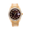 Rolex Day-Date Diamond Watch, 228238 40mm, Red Diamond Dial With 4.75 CT Diamonds