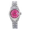 Rolex Oyster Perpetual Lady Date 69160 26MM Pink Diamond Dial With Stainless Steel Oyster Bracelet