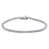14K WHITE GOLD LADIES BRACELET WITH 2.3 CT DIAMONDS