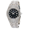 Audemars Piguet Royal Oak Lady 67601ST 33MM Black Dial With Stainless Steel Bracelet