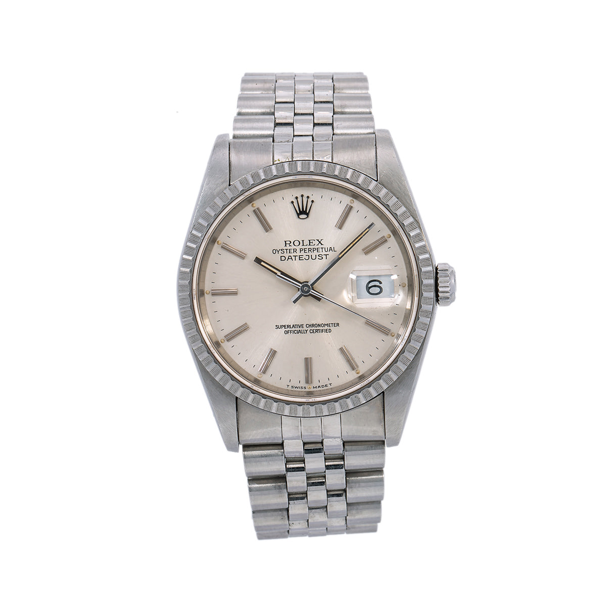 Rolex Datejust 36MM Silver Dial With Stainless Steel Jubilee Bracelet