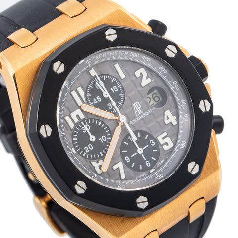 Audemars Piguet Royal Oak Offshore 25940OK 42MM Grey Dial With Rubber Bracelet