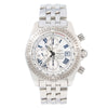 Breitling Chronomat Evolution A13356 44MM White Mother of pearl Dial With Stainless Steel Bracelet