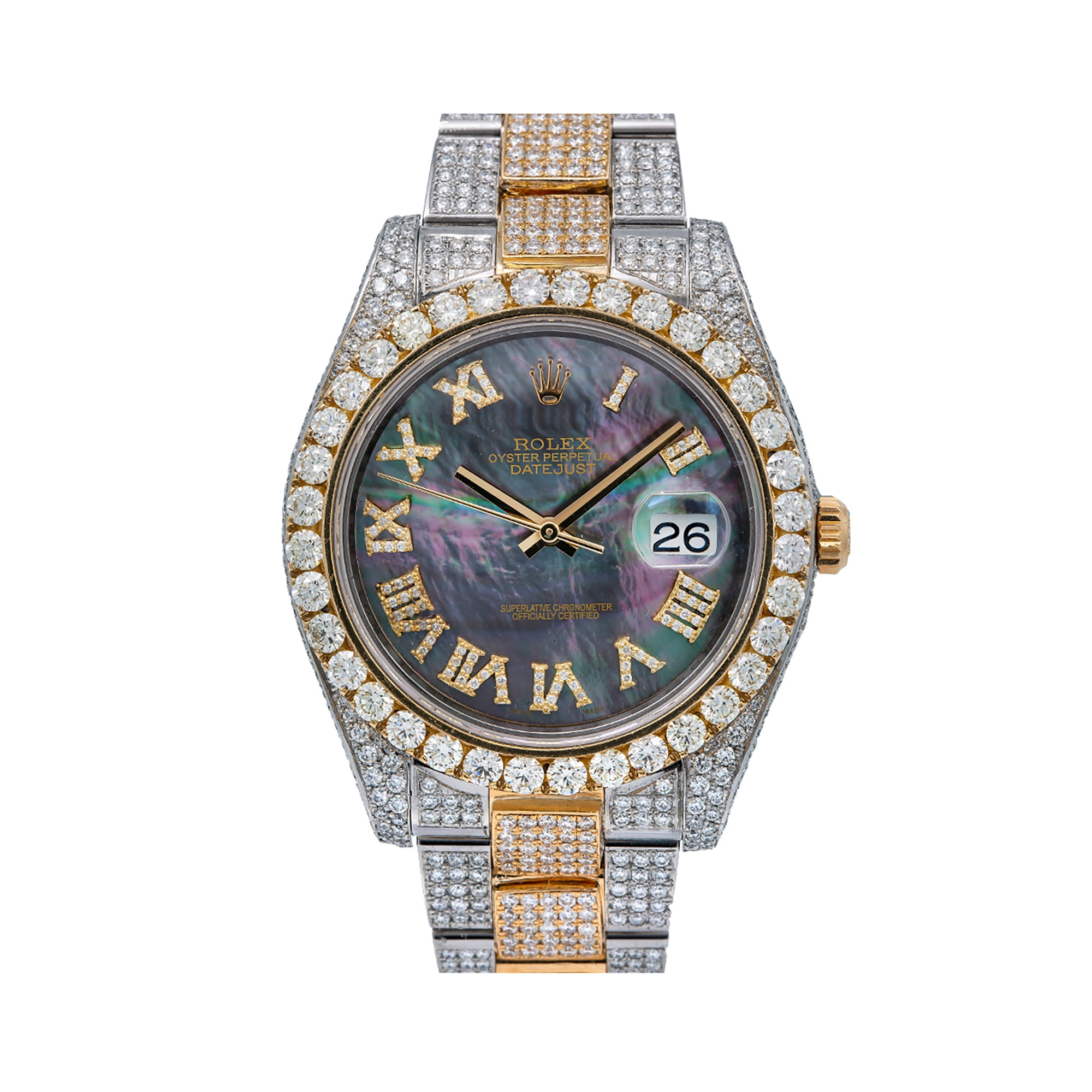 Rolex Datejust 126333 41MM Mother of Pearl Diamond Dial With 18.75 CT Diamonds