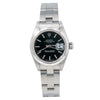 Rolex Oyster Perpetual Lady Date 69160 26MM Black Dial With Stainless Steel Oyster Bracelet