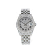 Rolex Datejust 178274 31MM White Diamond Dial With Stainless Steel Jubilee Bracelet