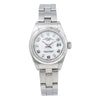 Rolex Oyster Perpetual Lady Date 69160 26MM White Dial With Stainless Steel Oyster Bracelet