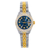 Rolex Datejust 26MM Blue Diamond Dial With Two Tone Diamond Jubilee Bracelet