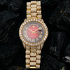 Rolex Day-Date 18078 36MM Red Diamond Dial With 23.75 CT Diamonds