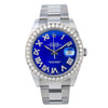 Rolex Datejust II 116300 41MM Blue Diamond Dial With 3.25 CT Diamonds