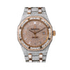Audemars Piguet Royal Oak Selfwinding 15400SR 44MM Rose Gold Diamond Dial With 32.75 CT Diamonds